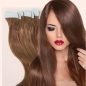 10 Russian Human Hair Tape Extensions 18