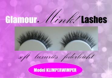 1 Paar Glamour Mink Lashes Model 02 KLIMPERWIMPER